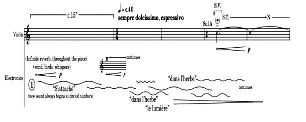 Image result for saariaho de la terre score